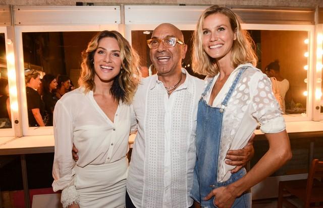 Giovanna Ewbank, Raphael Sahyoun e Renata Kuerten (Foto: Rodrigo Zorzi/Divulgação)