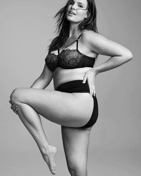 Candice Huffine (Foto: Reprodução Instagram)