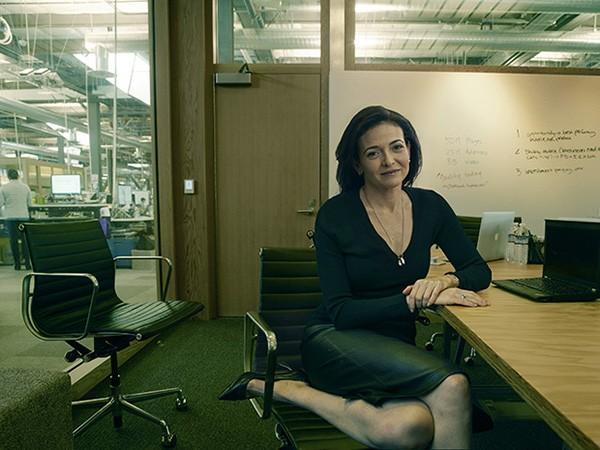 Sheryl Sandberg, CEO do Facebook, em 2015 (Foto: Divulgação: Annie Lebovitz / Women: New Portraits )