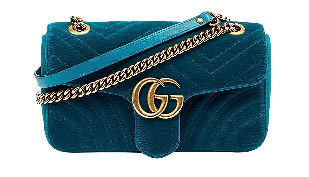 Bolsa com alça de metal Gucci, R$ 6.280 (Foto: ImaxTree/Divulgação)