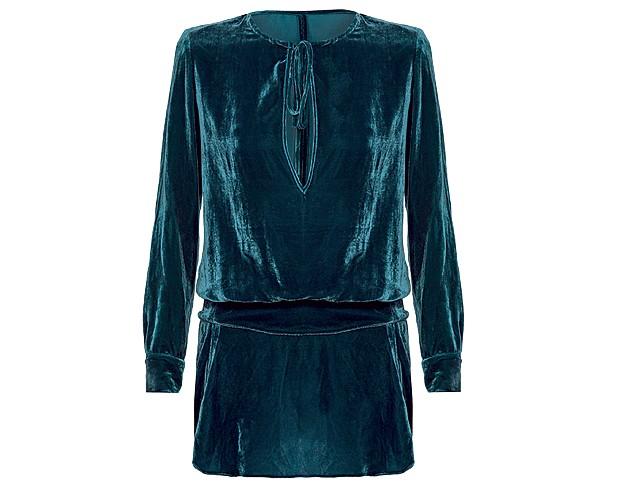 Vestido de veludo Lilly Sarti na Farfetch, R$ 799 (Foto: ImaxTree/Divulgação)