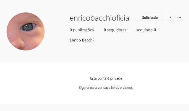 Enrico Bacchi (Foto: Reprodução/Instagram)
