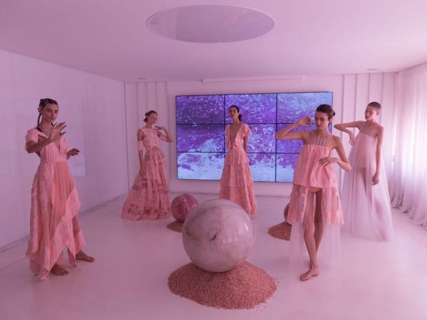 Paula Raia: o cor de rosa foi a cor base para o desenvolvimento da coleção (Foto: Thibé)