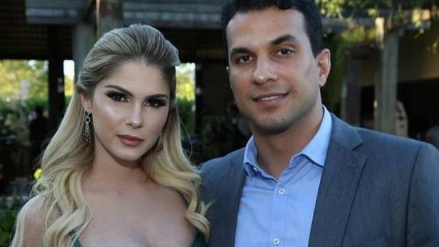 Bárbara Evans e o deputado Irajá Abreu (Foto: Reprodução/Instagram)