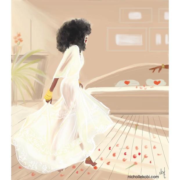 Nicholle Kobi: suas mulheres negras são superelegantes (Foto: Reprodução Instagram)