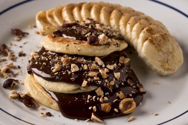 Panqueca de Nutella com banana é atração do Formidable Bistrot (Foto: Divulgação)