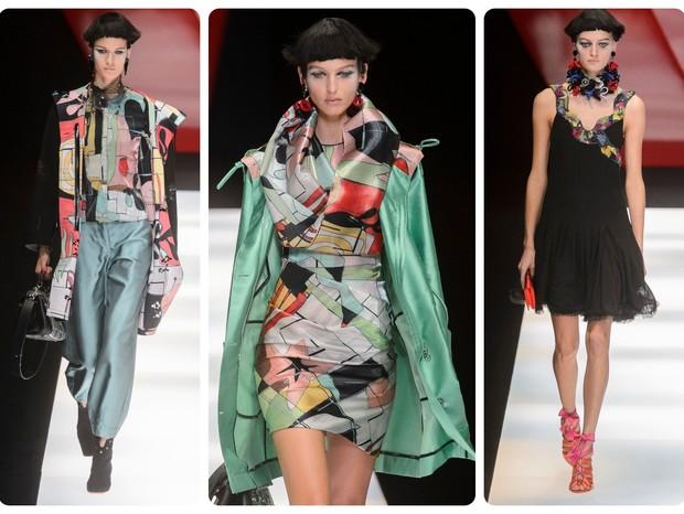 Giorgio Armani | Desfile da Semana de Moda de Milão | Primavera-verão 2018 (Foto: IMaxTree)