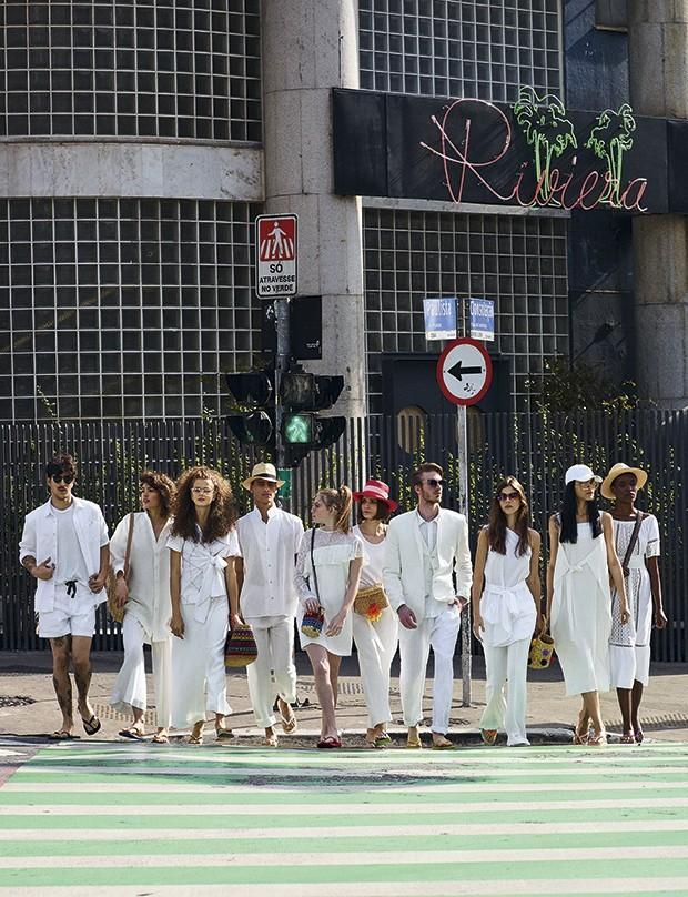 A moda na cidade (Foto: Bob Wolfenson)