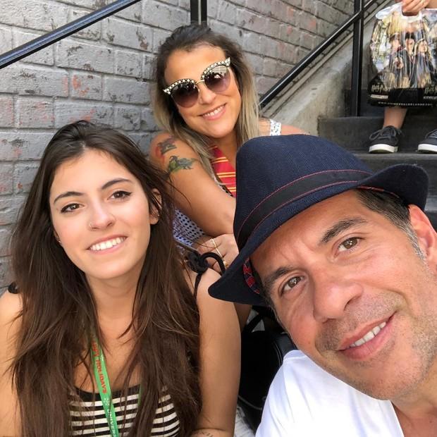 Leandro Hassum e família (Foto: Reprodução/Instagram)