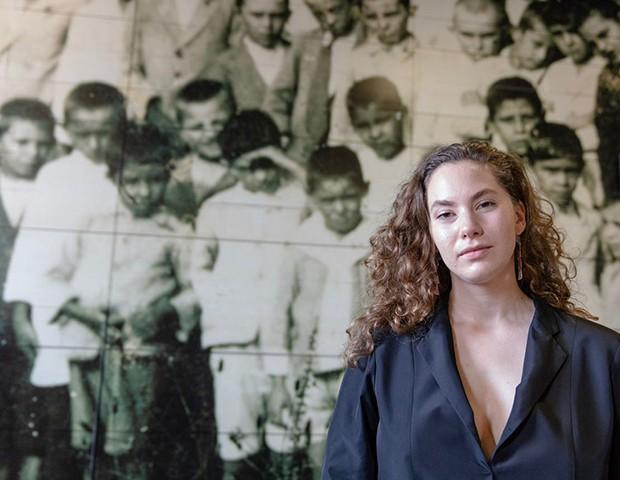 Emma Ferrer, a neta de Audrey Hepburn, é também embaixadora da ONU (Foto: Thibé )