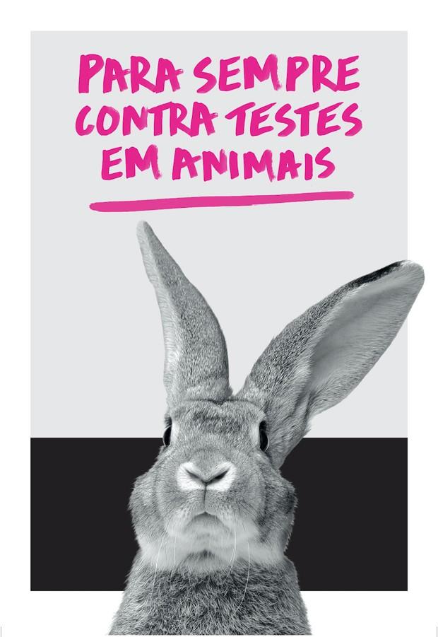A The Body Shop em parceria com a AMPARA Animal e apoio da Natura promovem passeata pela proibição dos testes em animais na indústria cosmética (Foto: Divulgação)