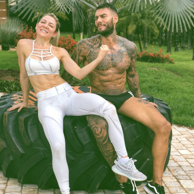 Karina e Lucas Lucco (Foto: Divulgação)