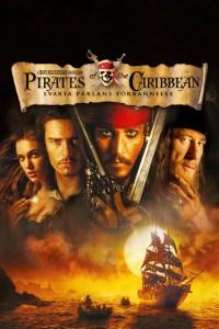 "Poster for the movie ""Pirates of the Caribbean: Svarta Pärlans förbannelse"""