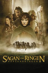 "Poster for the movie ""Sagan om ringen: Härskarringen"""