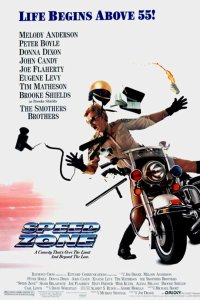 "Poster for the movie ""Speed Zone"""