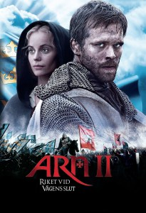 "Poster for the movie ""Arn II - Riket vid vägens slut"""