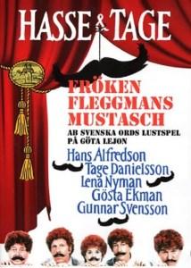 """Poster for the movie """"Fröken Fleggmans mustasch"""""""