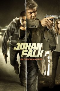 "Poster for the movie ""Johan Falk 15: Blodsdiamanter"""