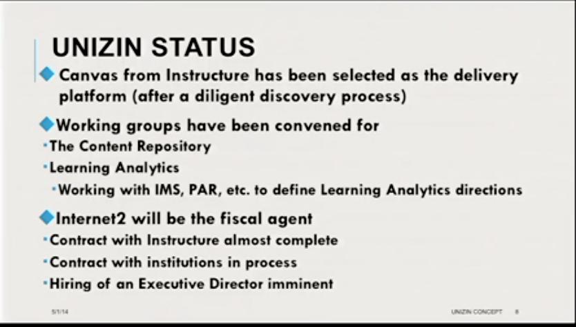 Unizin Indiana Universitys Secret New Learning Ecosystem Coalition