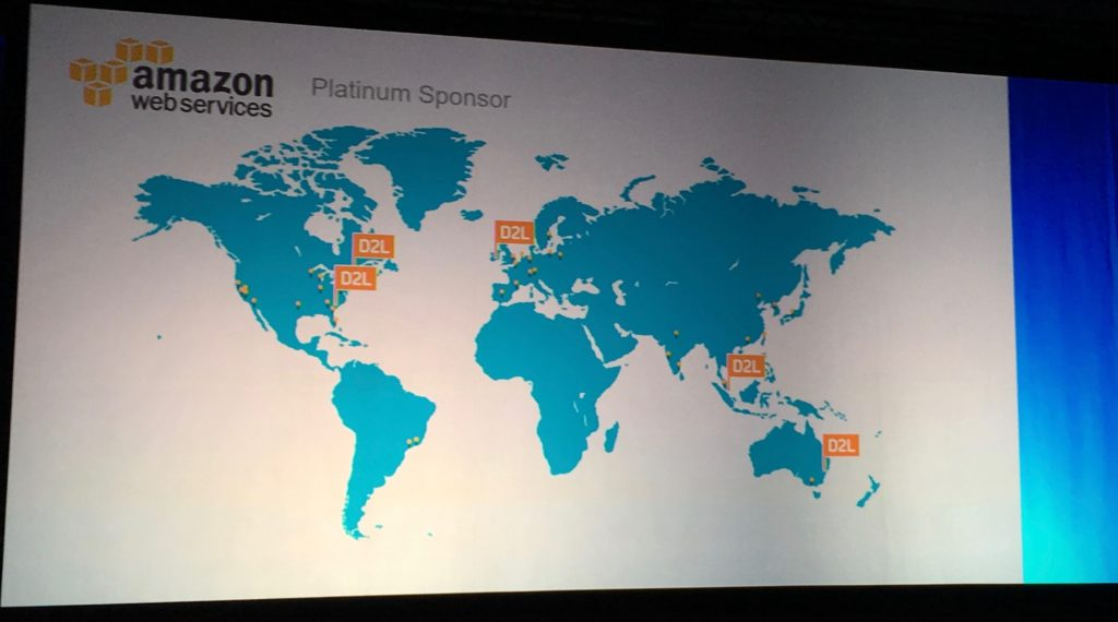 AWS Data Centers for D2L