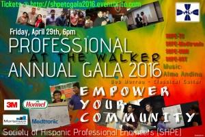 Scholarship Gala 2016 Flyer