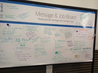 Job/Message board