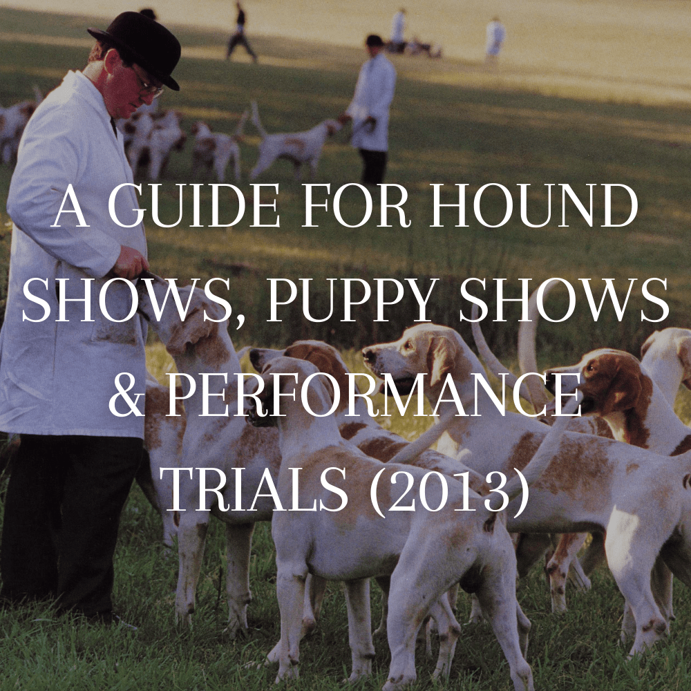 mfha-policies-guidelines-guide-for-hound-shows-puppy-shows-performance-trials