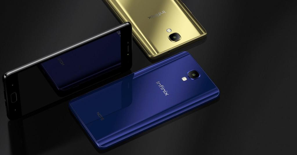 With the Infinix Note 4 and Note 4 Pro come in a variety of colours