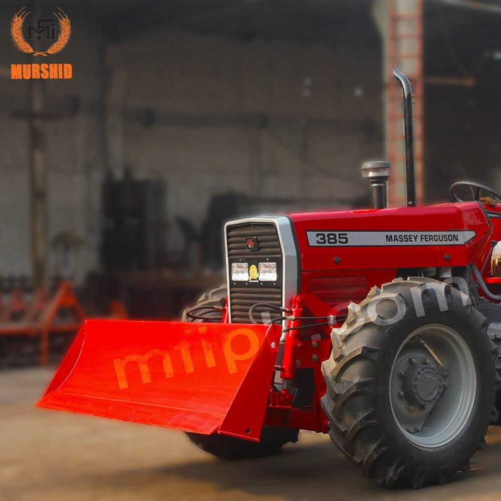 Massey Ferguson Tractor Mf-385 4x4 With Front Blade