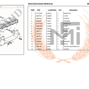 INDUCTION & EXAUST MANIFOLDS