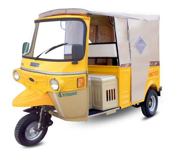 Tricycle Rikshaw 6 Seater
