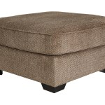 Graftin Teak Oversized Accent Ottoman Mega Furniture Rugs Outlet
