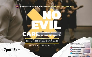 No Evil Carryover into the New Year 2021