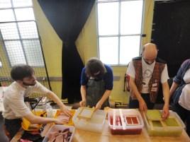 Atelier de fabrication de papier d'Aurèle Duda