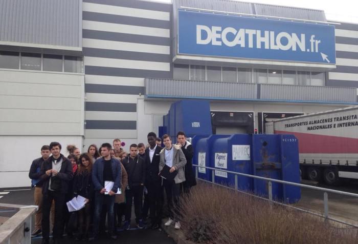 Visite entrepôt DECATHLON Nantes MFR CHATEAUBRIANT