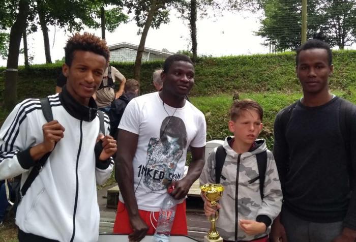 Journée sportive à Vioreau - MFR DE CHATEAUBRIANT