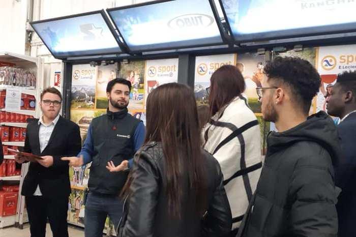 Visite centre leclerc chateaubriant MFR