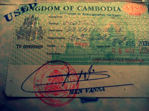 cambodian passport