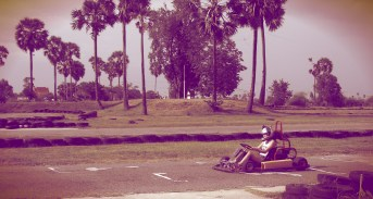 go carting in cambodia