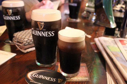 my first guiness is the oldest pub in ireland