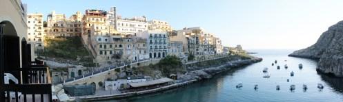 view from hotel in Gozo, malta