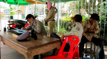 cambodian border patrol