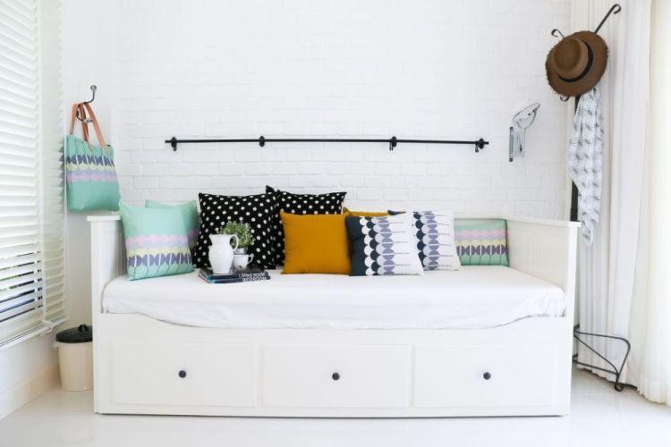Белый кирпич является характерным элементом жилищ в стиле Северной Европы.