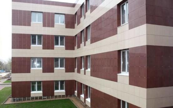 Фасад из керамогранита – век новых технологий