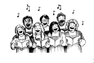 singing in group