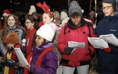 MFYC was part of the Port Credit Caroling in the Park