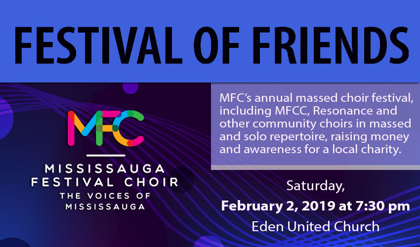 Festival of Friends - Mississauga Festival Youth Choir