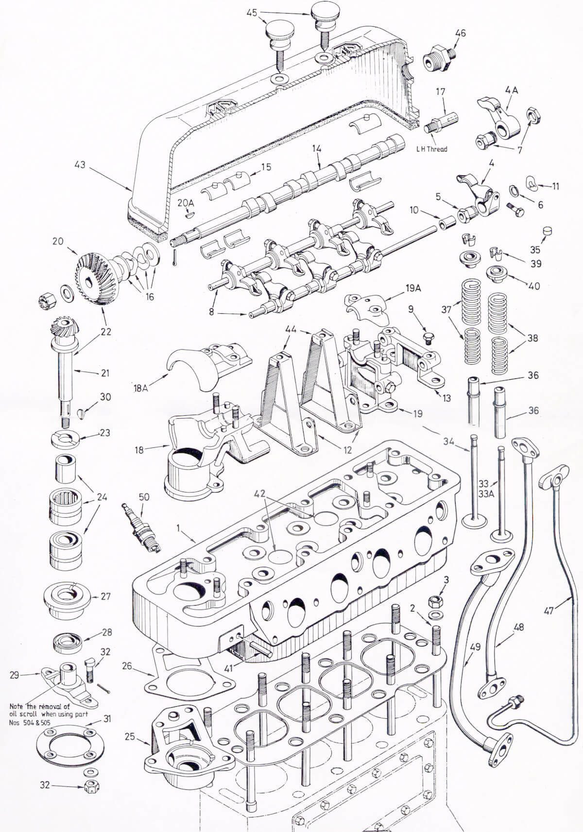 Mmm engine early style upper p17 the mg automobile pany nitrous wiring diagram