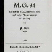 Butz Manual Mg34