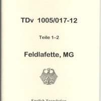 MG 3 Lafette Operator's Manual